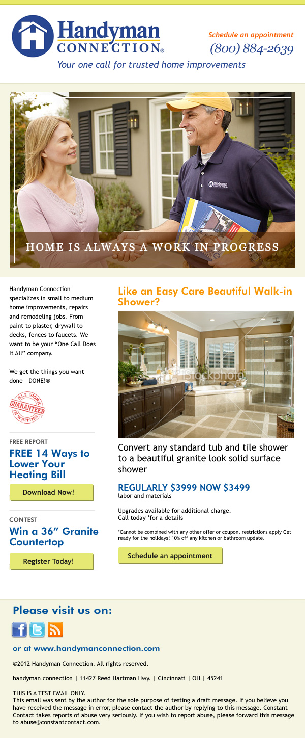 Handyman-Newsletter