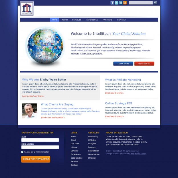 Intellitech-Website