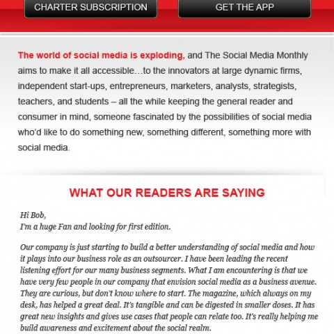 The Social Media Monthly