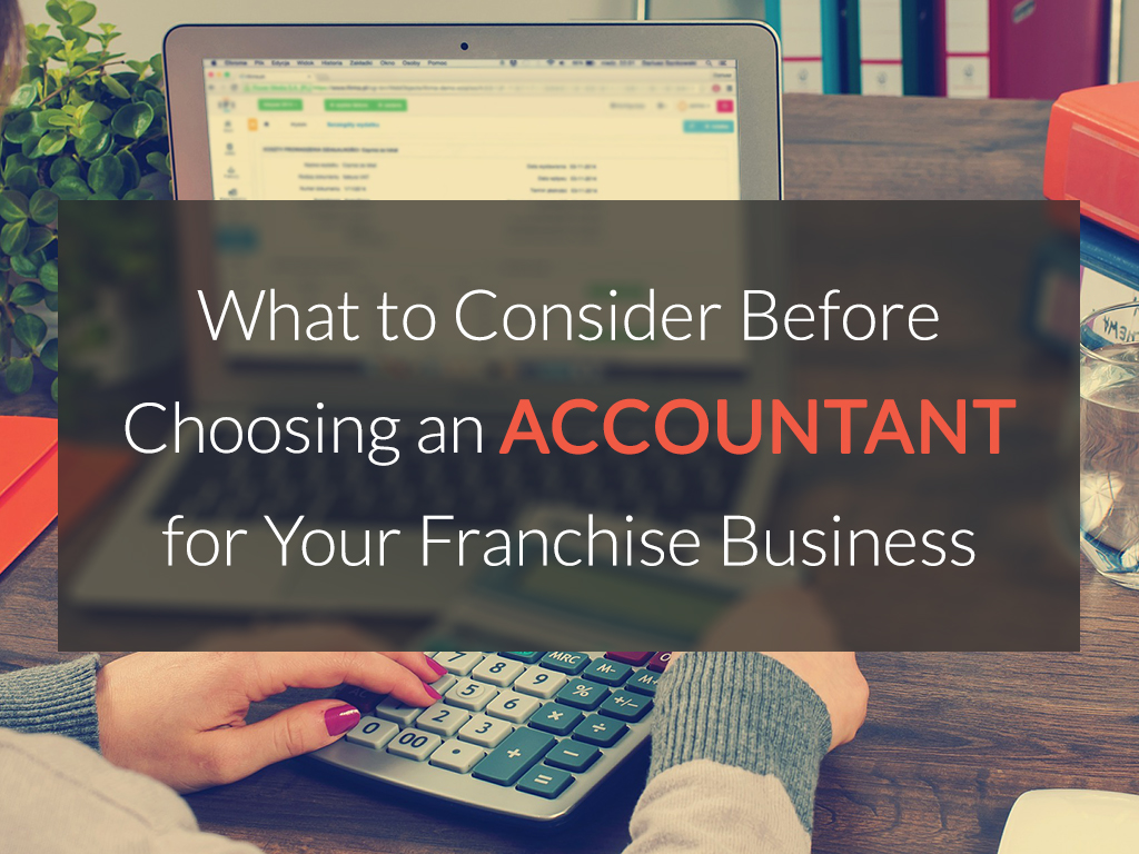 Accountant for Your Franchise Business