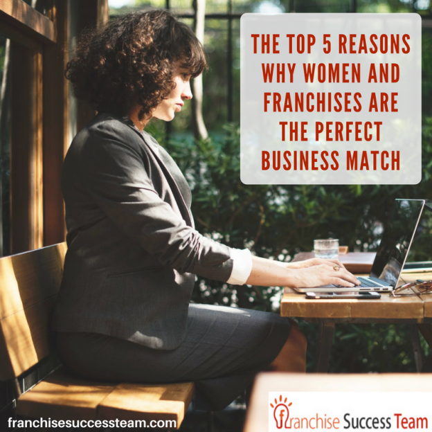 top 5 reasons why women and franchises are the perfect business match